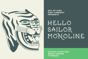 Hello Sailor Monoline
