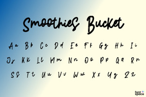 Smoothies Bucket