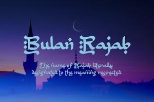 b Bulan Rajab