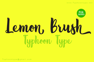 Lemon Brush