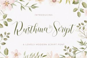 Rusthina Script