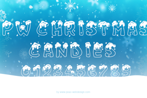 PW Christmas Candies