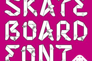 Skateboardfont