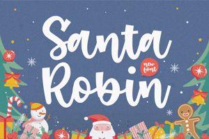 Santa Robin