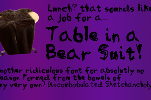 Table in a Bear Suit