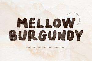Mellow Burgundy