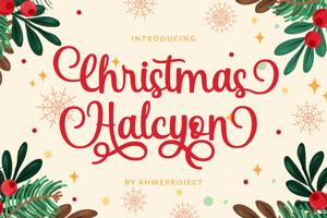Christmas Halcyon