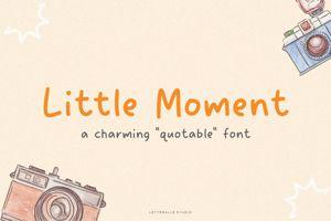 Little Moment