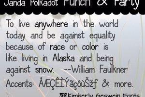 Janda Polkadot Punch