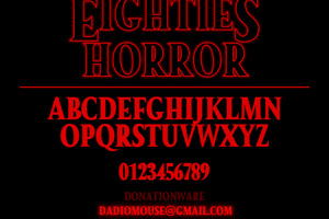 Eighties Horror