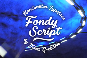 Fondy Script