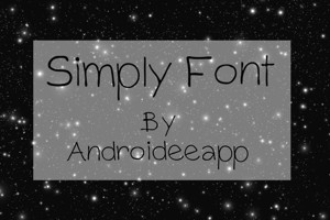 Simply Font