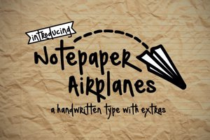 Notepaper Airplanes