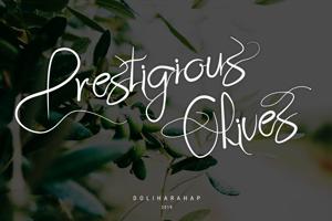 Prestigious Olives