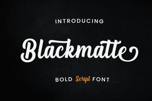 Blackmatte