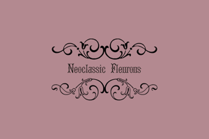 Neoclassic Fleurons Free