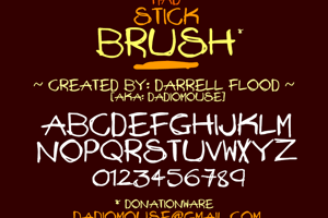 Mad Stick Brush