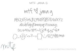 MTF JanaG