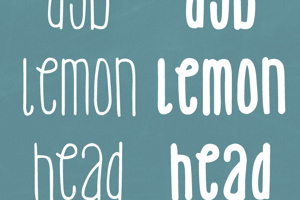 DJB Lemon Head