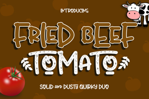 Fried Beef Tomato