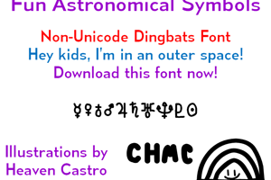 Fun Astronomical Symbols