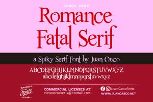 Romance Fatal Serif