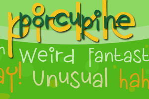 DK Porcupine Pickle