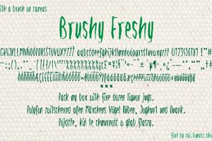 Brushy Freshy