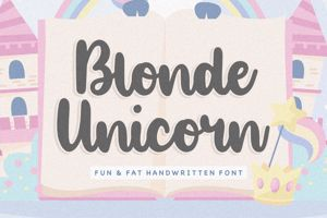 Blonde Unicorn