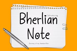 Bherlian Note