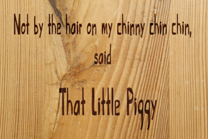 That Little Piggy