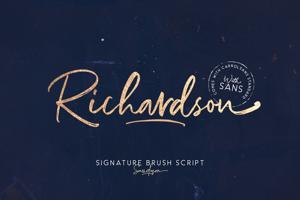 Richardson Script