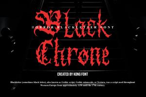 Black Chrone