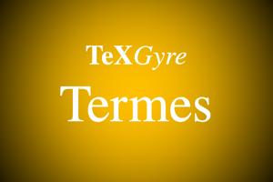TeXGyreTermes