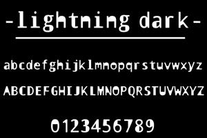 lightning dark
