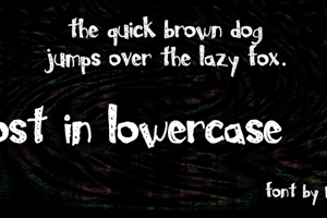 Lost In Lowercase