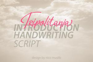 Tripolitania Handwritten