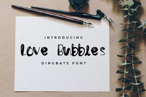 Love Bubbles