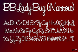 BB Lady Bug (Narrow)