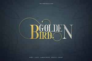GOLDEN BIRD SERIF FONT
