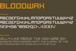 BloodWax