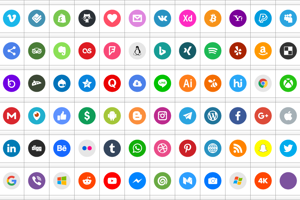 Type Icons Color 2019