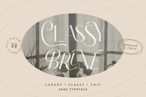 Classy Brune