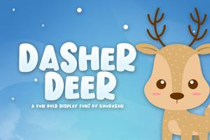 Dasher Deer