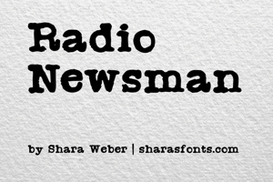 Radio Newsman