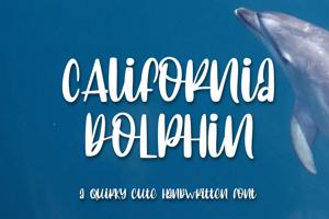 C Alifornia dolphin