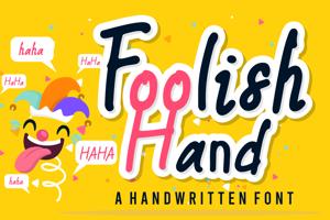 Foolish Hand