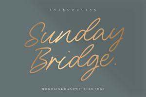 Sunday Bridge