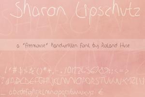 Sharon Lipschutz Handwriting