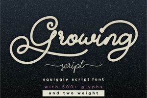 Growing Script